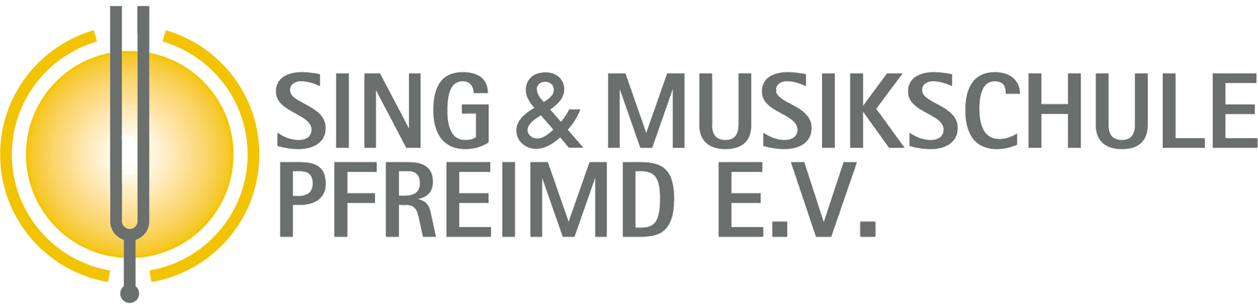 Logo zweizeilig